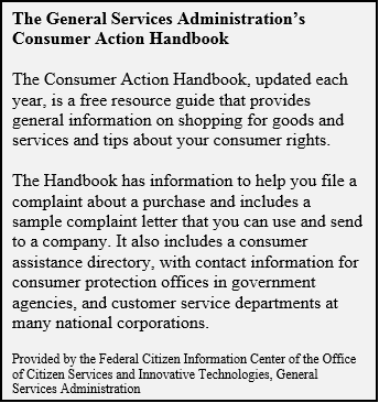 Consumer Complaints1